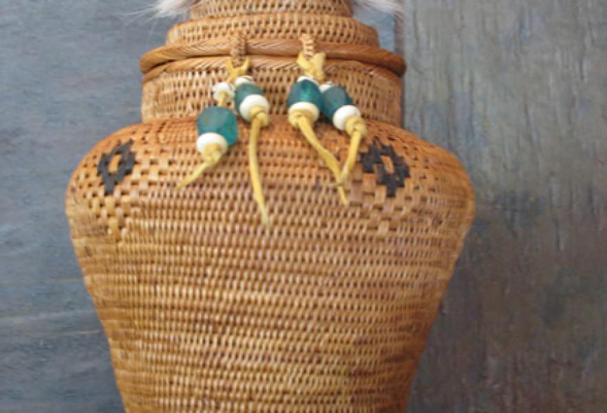 Grass Woven Baskets