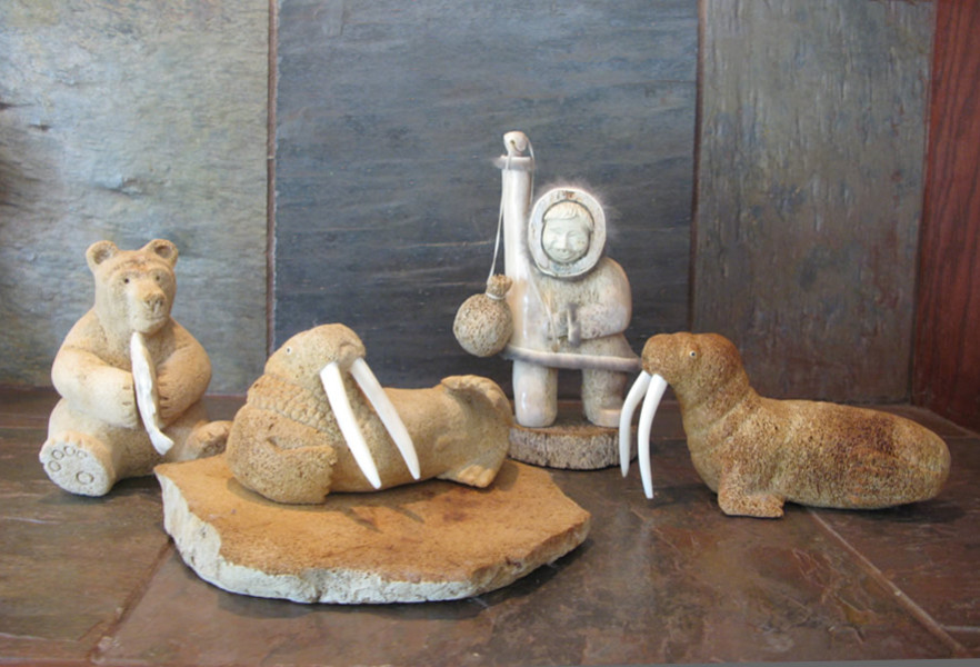 Soapstone Carved Art