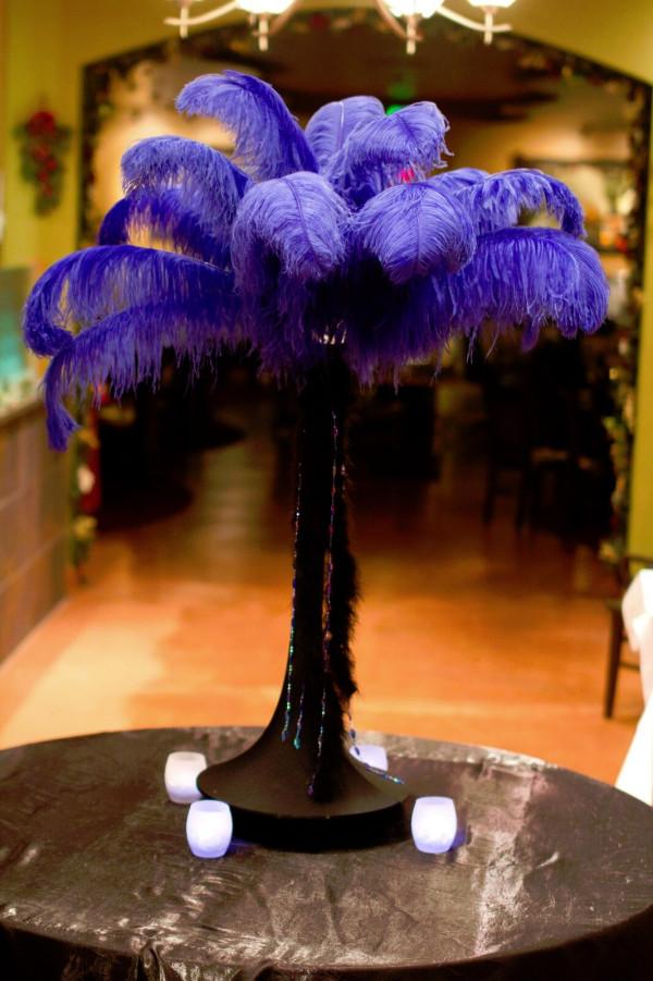 54″ Purple Feather Extravaganza
