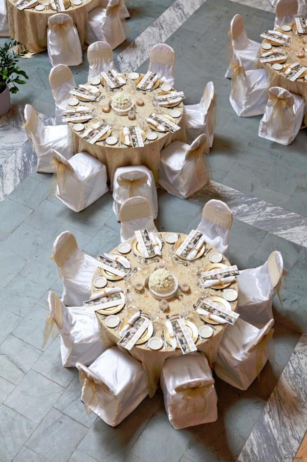 Elegant White and Gold Theme