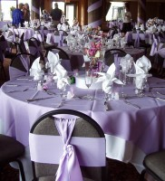 White and Lavender Theme