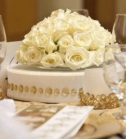 White Rose Centerpiece