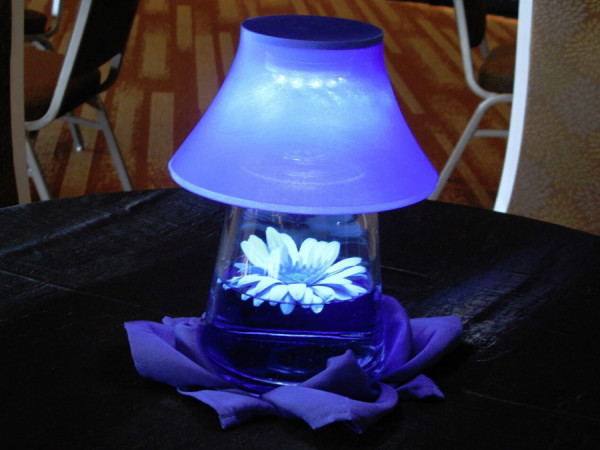 Blue Mini Lamp
