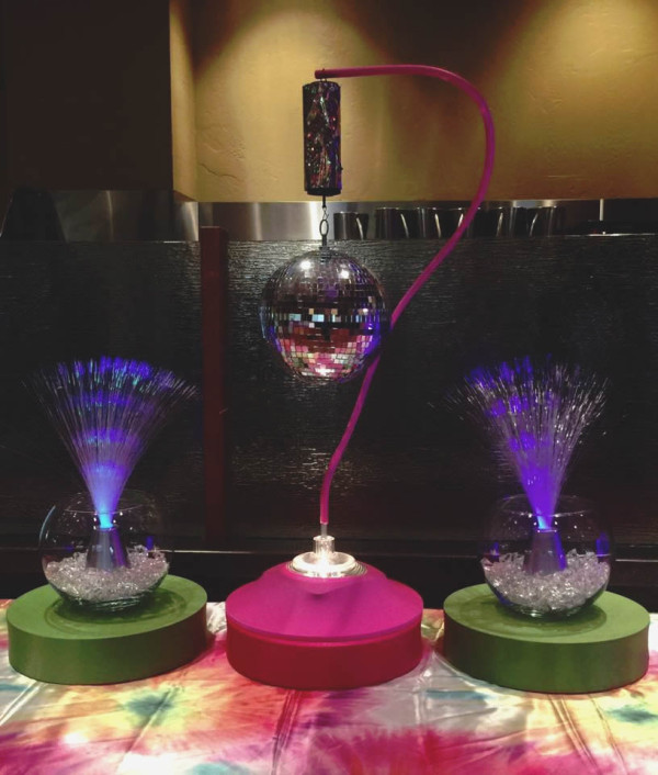 Groovy Centerpieces