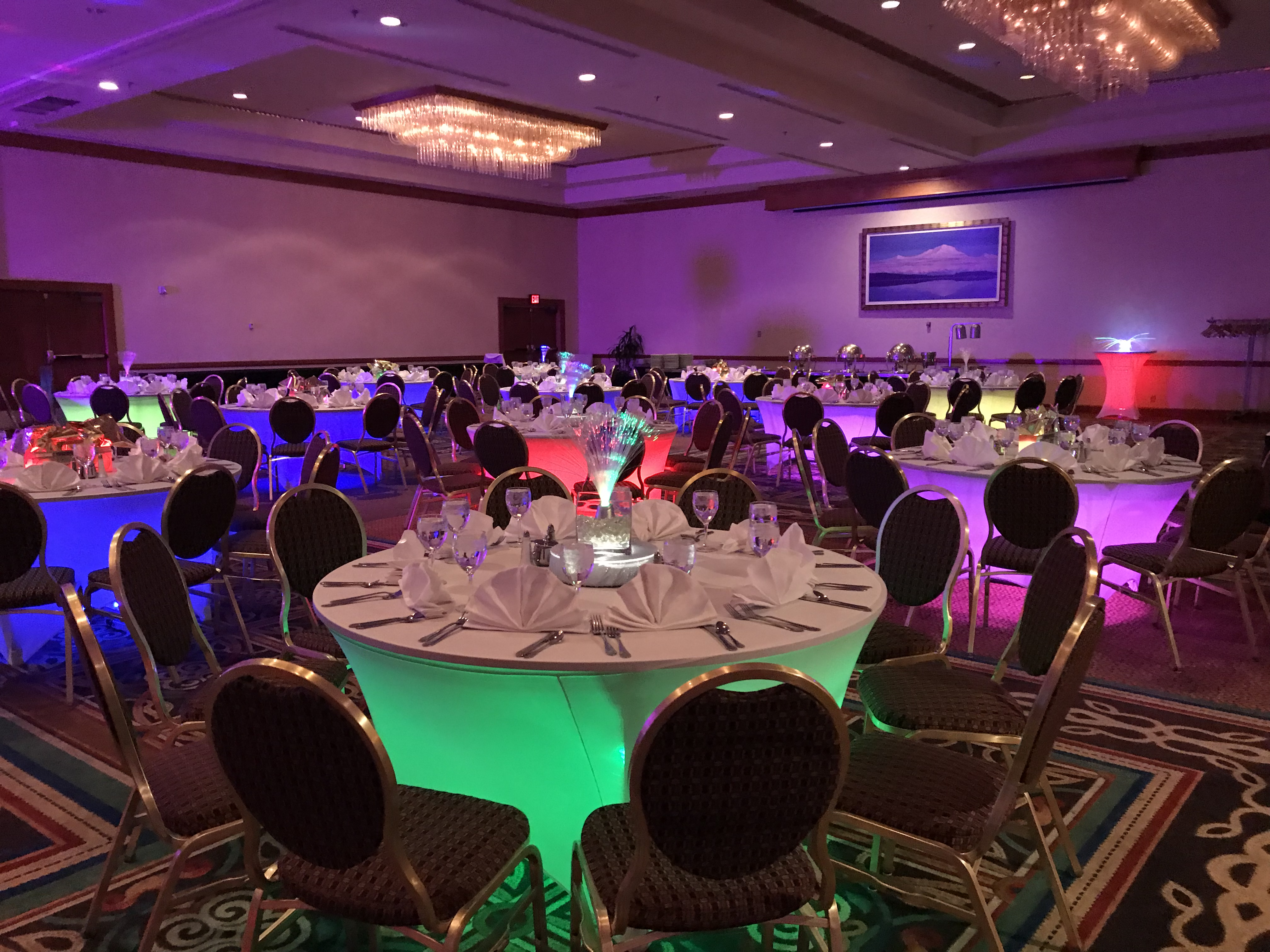 decor lighting anchorage. 80 S Themed Holiday Party Alaska Destination Management  Event And Meeting Planner